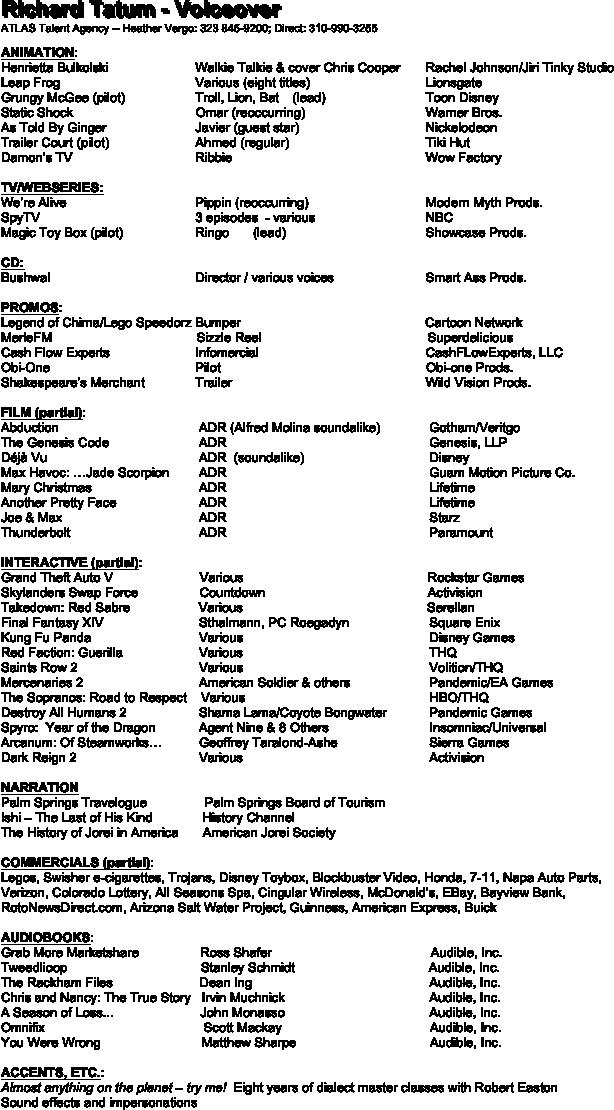 Parts of a Saber